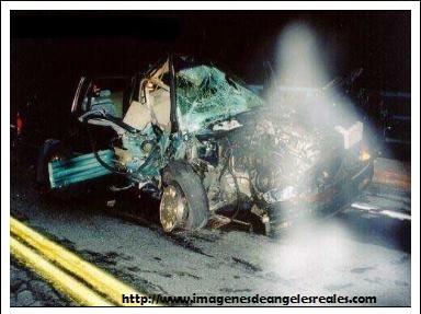 apariciones de angeles en accidentes verdad
