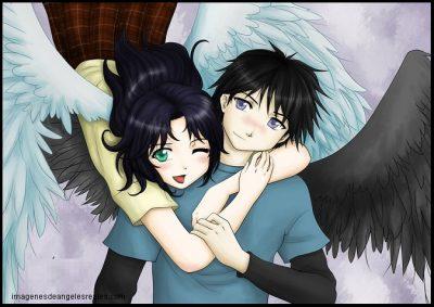 Imagenes angeles enamorado anime