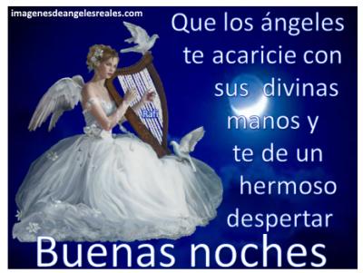imagenes de angeles con mensajes bonitos