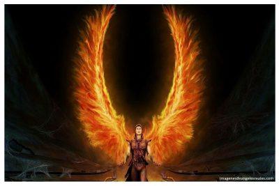 imagenes de angeles de fuego