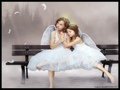 imagenes de angeles y niñas