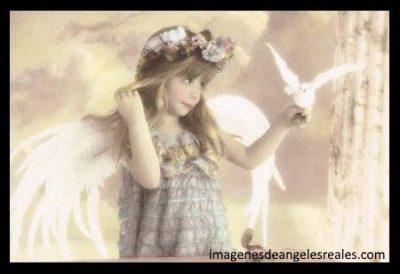 imagenes de angeles y niñas reales