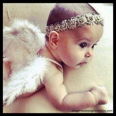 imagenes de angeles y niñas tiernas